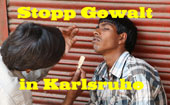 Stopp Kriminalität in KA